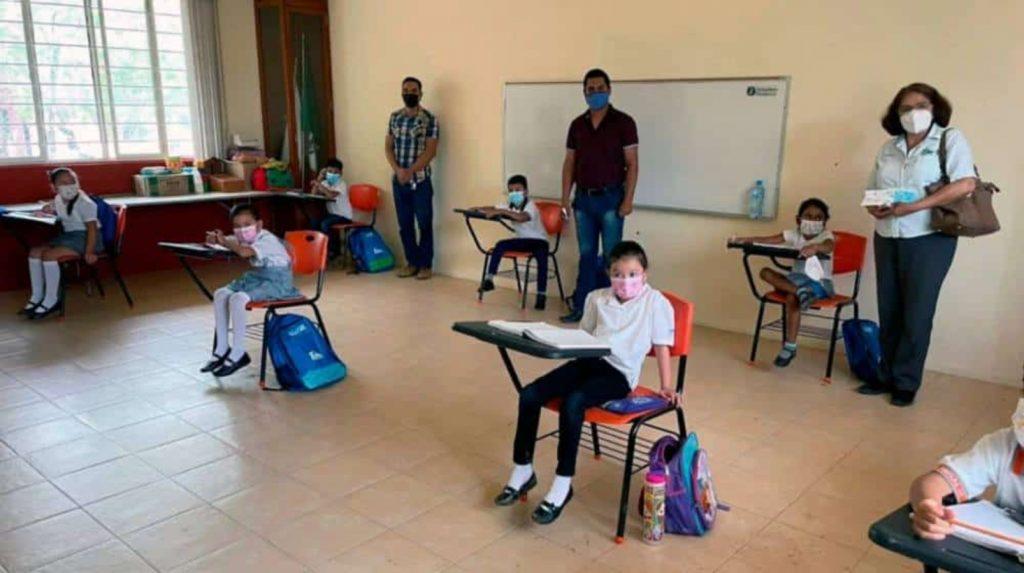 Retorno a clases en Baja California