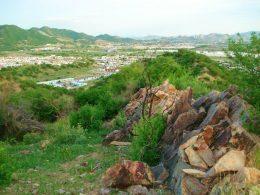 Parte del Cerro Johnson