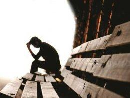 Persona en depresión