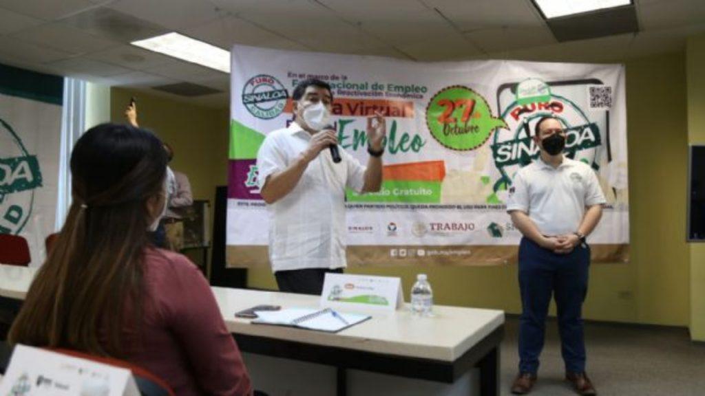 Feria de empleo en Sinaloa