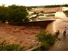 Inundaciones en Sinaloa