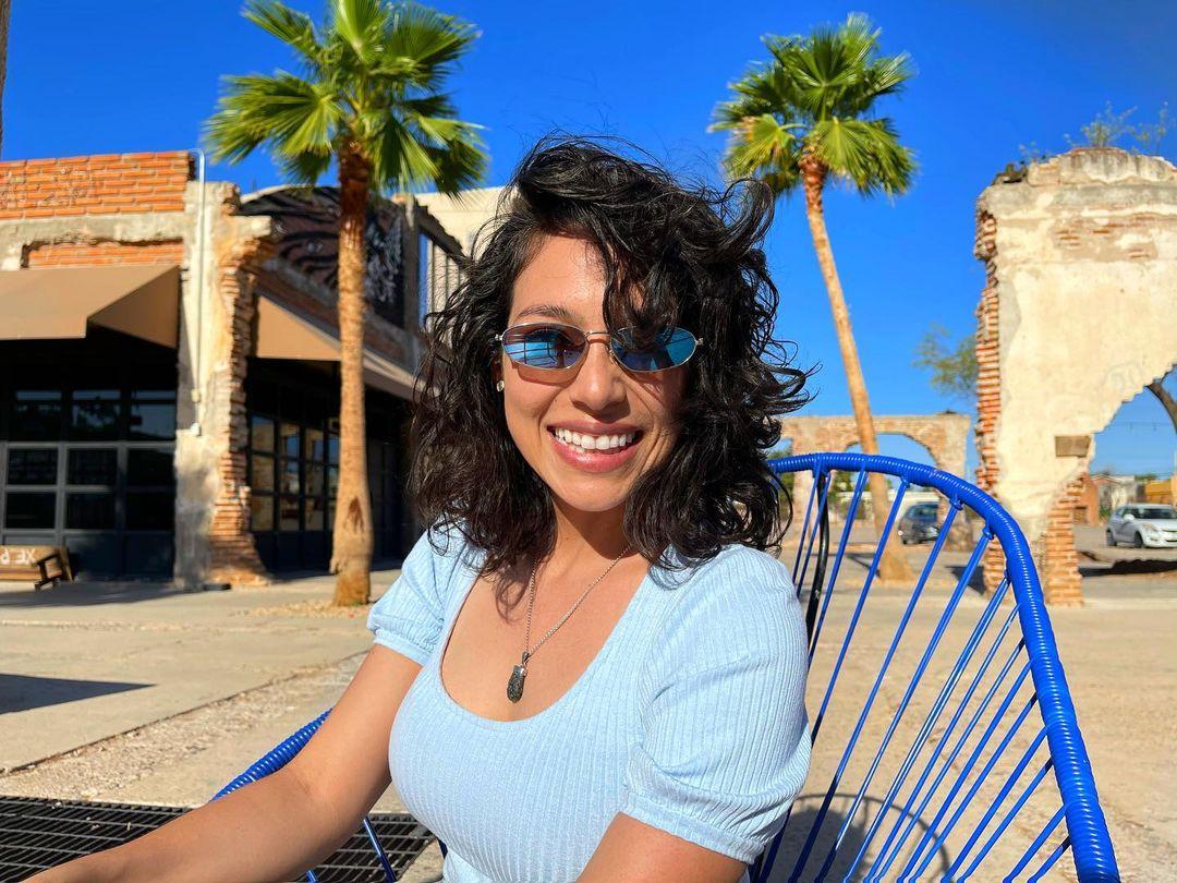Marissa Mur en Parque la Ruina en Hermosillo.