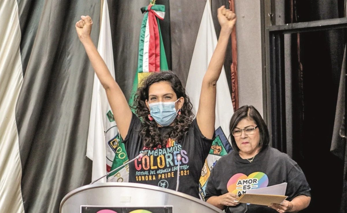 Celeste Taddei, de Morena y Rosa Elena Trujillo, de Movimiento Ciudadano.