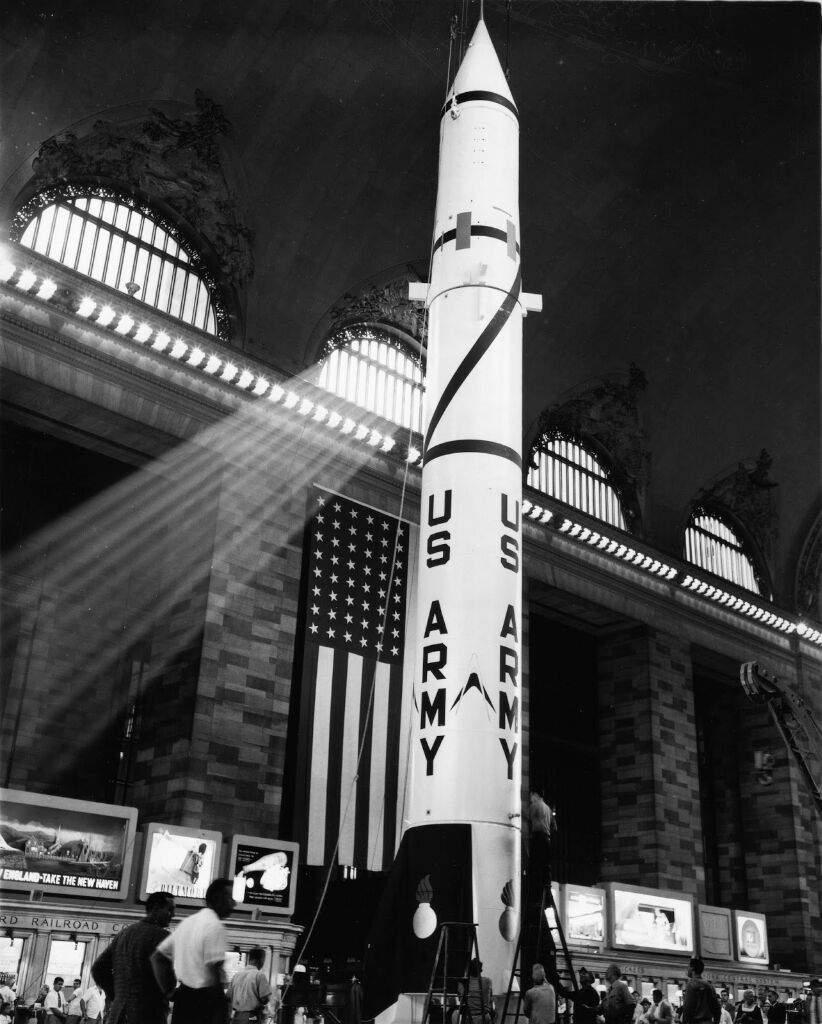 Misil de pruebas Athena de la U.S. Air Force, que había sido lanzado desde una base militar cerca de Green River.