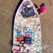 Pesca de plástico
