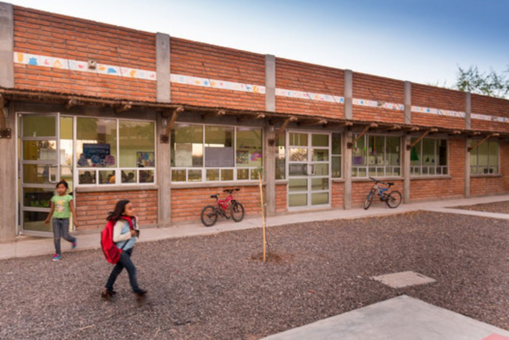 Interior de Casa del Niño Indígena