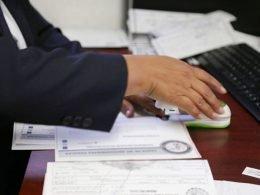 Sello de carta de antecedentes no penales