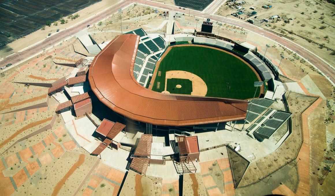 Estadio Sonora desde arriba