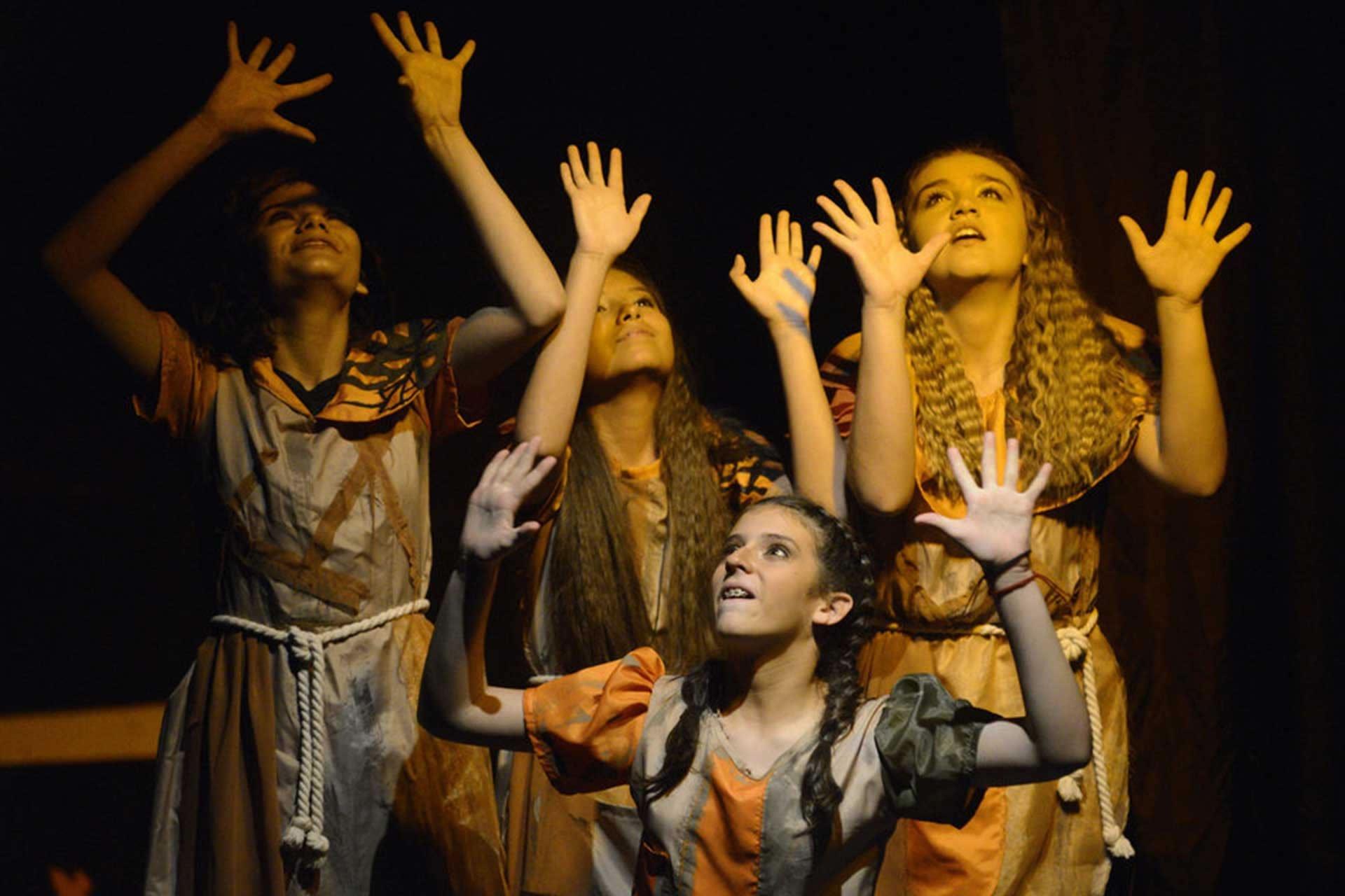 Mis Niñas Migrantes, de la compañía de Teatro Talento.