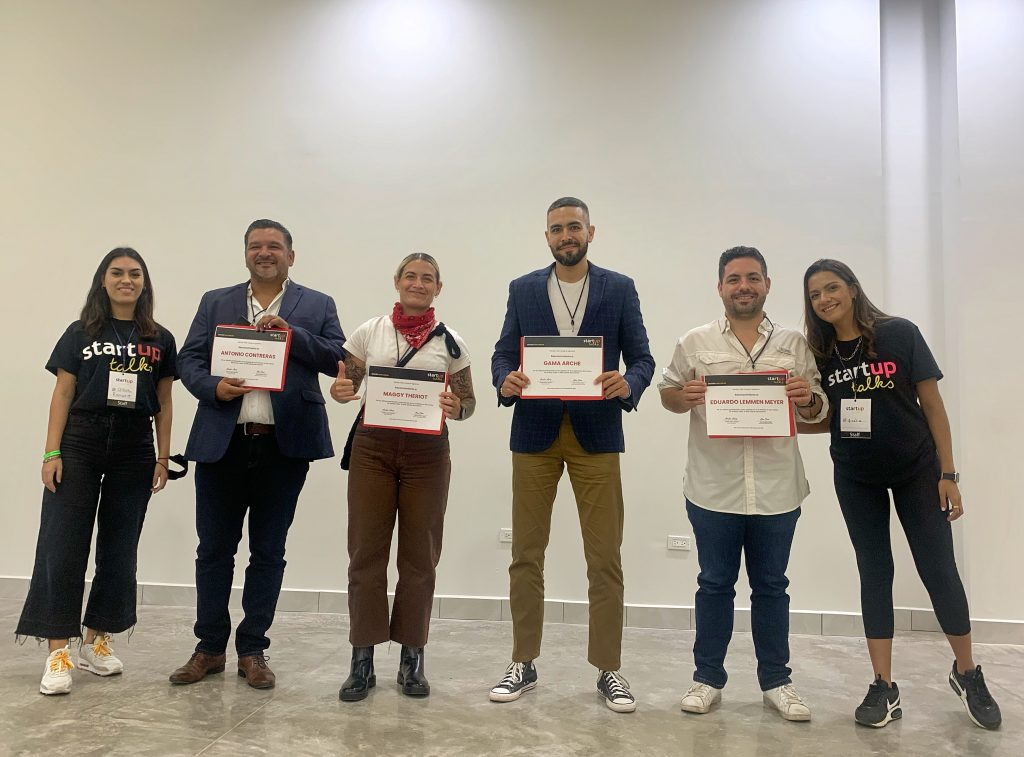 Participantes de Startup Talks