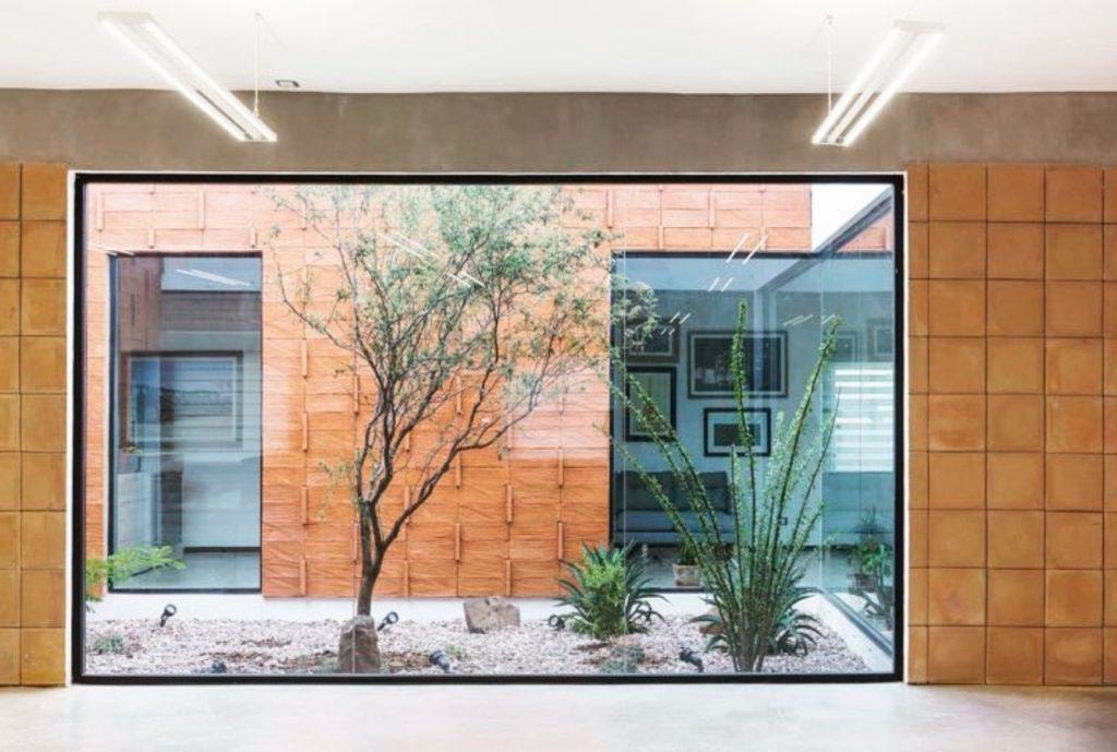 Arquitectura que respeta la naturaleza